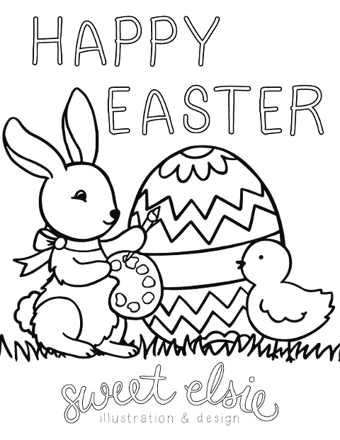 easter-coloring-page